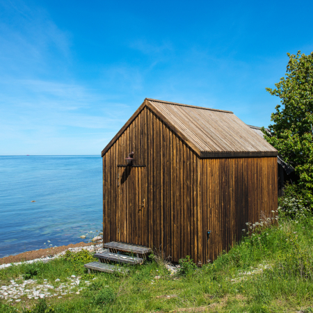 Gotland Ygne Fiskarbod Sommar 1