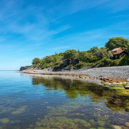 Gotland Ygne Strand Sommar 1